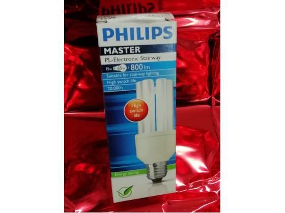 Lampada basso consumo master 15w e27 philips