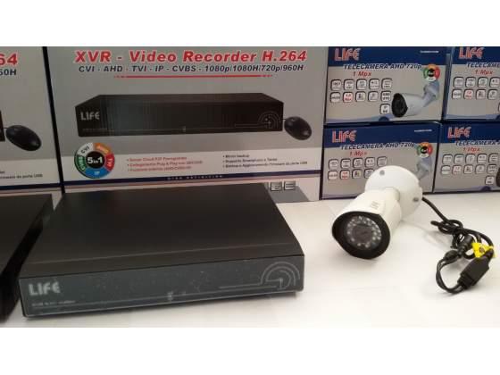 Xvr video sorveglianza ahd 4 ch