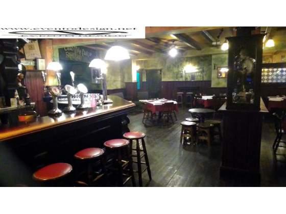 Banconi pub / bar / ristorante in legno massello