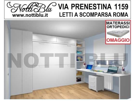 Letti a Scomparsa _ Letto a Castello SE451 Materassi Omaggio