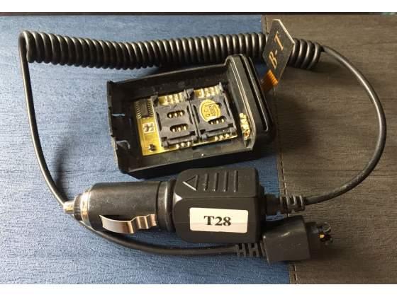 Cavo Ricarica Auto + Adattatore DualSim Ericsson T10 T28