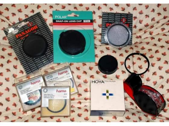 Filtri e altri accessori per fotocamere