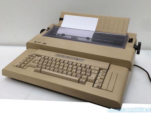 Japy 28 macchina da scrivere elettronica Chions