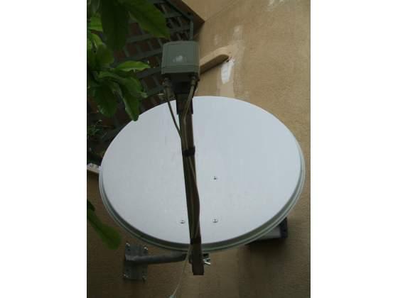 Parabola satellitare da ø 80 cm con illuminatore