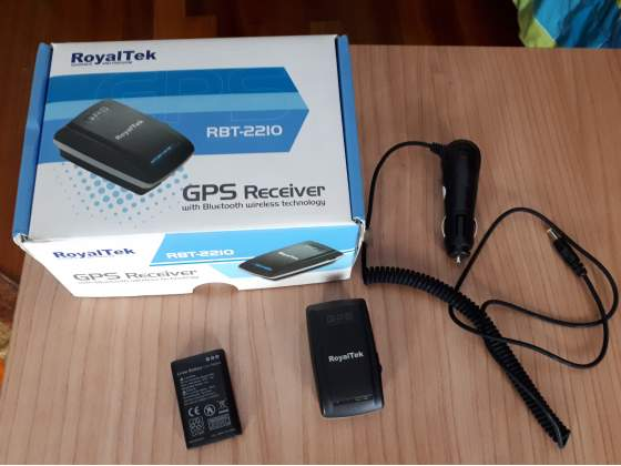 Royaltek RBT- Ricevitore GPS Bluetooth 20 Canali SiRF