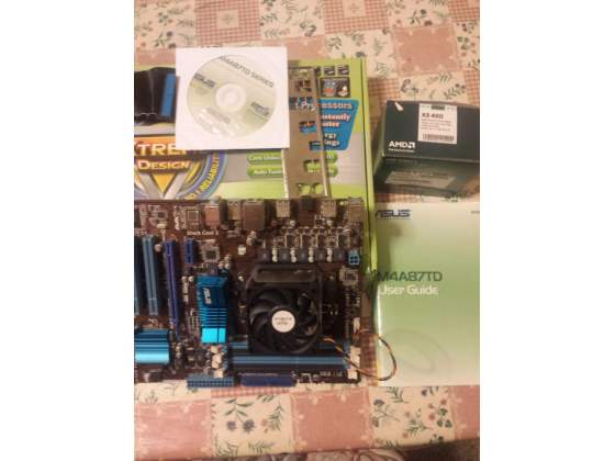 Scheda madre Motherboard Asus M4A87TD +CPU