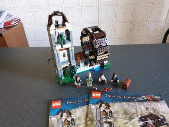 Lego pirati dei caraibi  - il mulino - usato completo