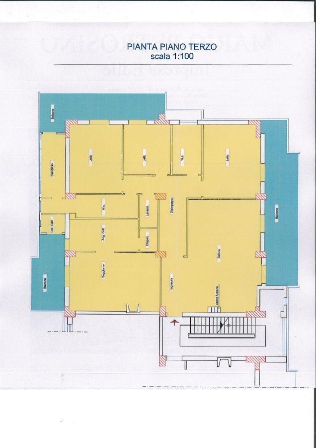 Appartamento 5 vani 160 mq