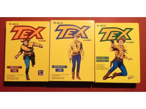 Gli Albi di Tex a colori - Editoriale Mercury