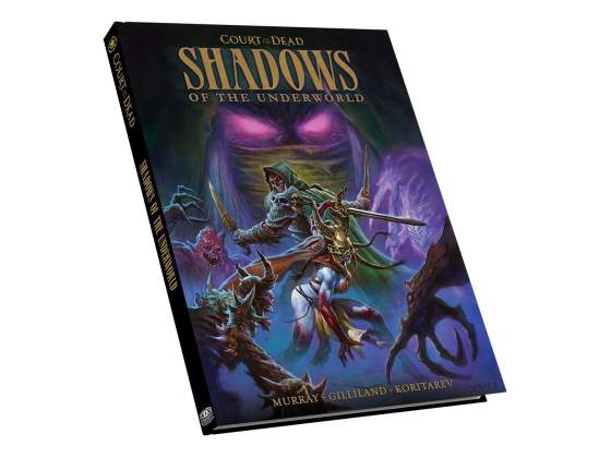 Gw jm court of the dead graphic novel shadows of the
