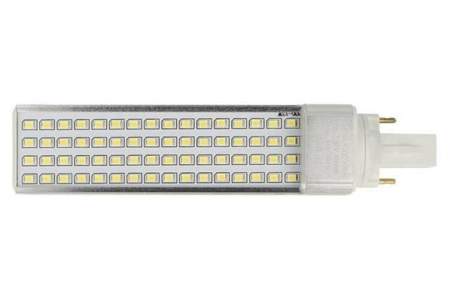 Lux ggn lampada faretto led g23 2 pin plc 13w bianco