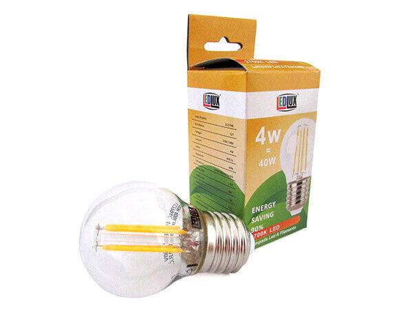 Lux lcc lampada filo led a filamento zaffiro sintetico