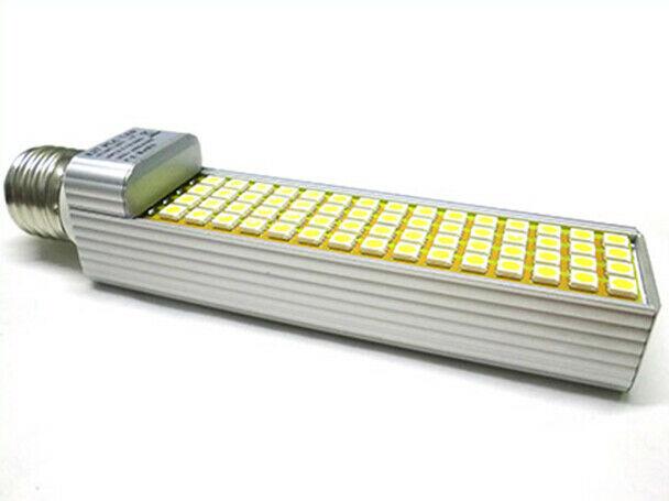 Lux lcf lampada led e27 plc 220v 12w 60 smd  bianco