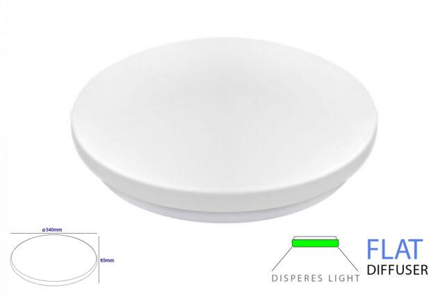 Lux lpn plafoniera a led da soffitto 24w 220v bianco