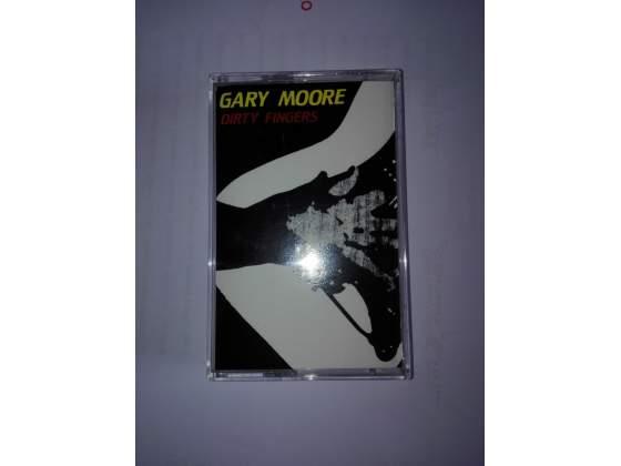 "MC tape musicassetta Gary Moore ""Dirty Fingers"""