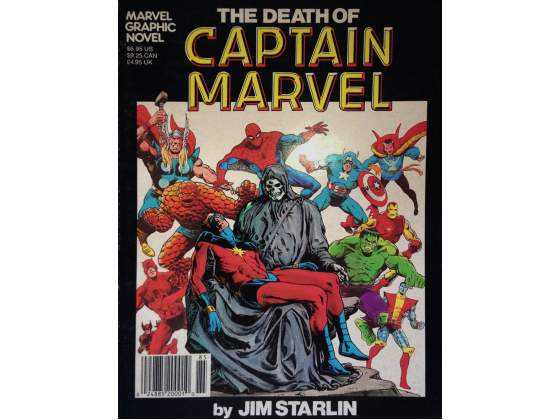THE DEATH OF CAPTAIN MARVEL - Marvel Graphic Novel #