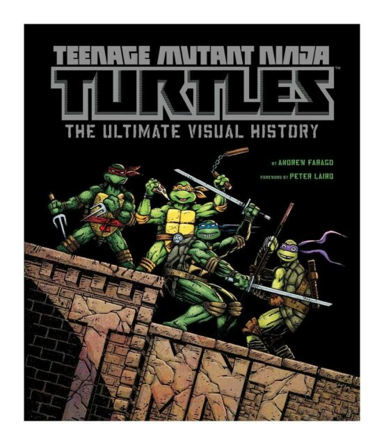 Gw jm teenage mutant ninja turtles art book the