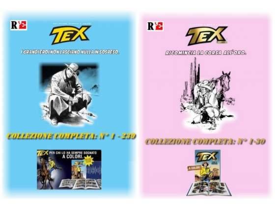 Tex collezione storica a colori completa 239 volumi