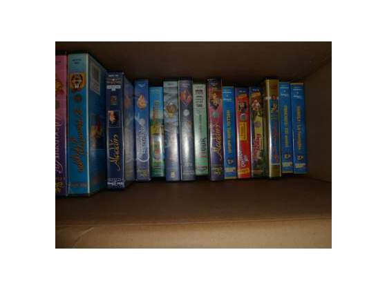 VHS originali cartoni