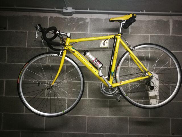 Bicicletta da corsa Longo colore giallo tg. 56.