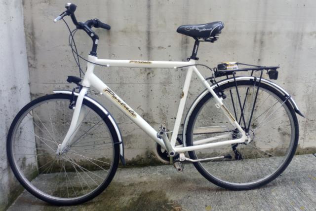 City bike alluminio uomo