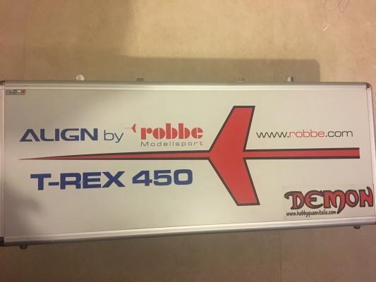 T rex 450 sport