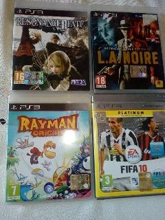 4 giochi originali per PS3