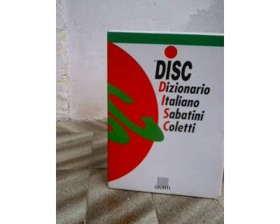 Dizionario italiano sabatini coletti