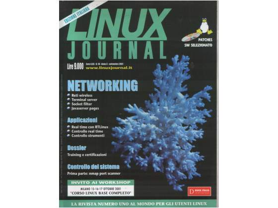 Linux Journal, edizione italiana, numeri vari