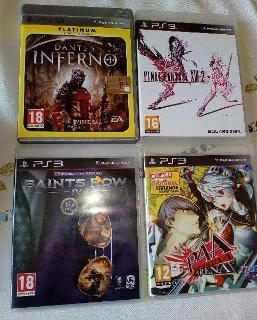Lotto 4 giochi originali per PS3