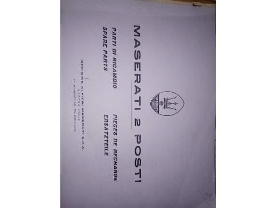 Maserati 2 posti Mistral manuale