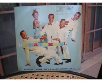 The platters EP(45 giri con 4 canzoni e cpertina rigida)