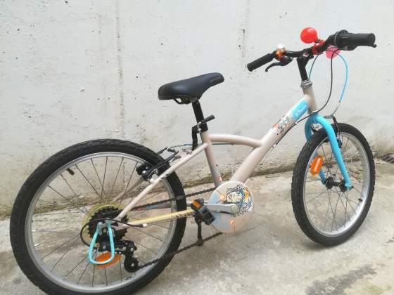 Bici per bambina 6/8 anni Decathlon B'TWIN cambio Shimano.