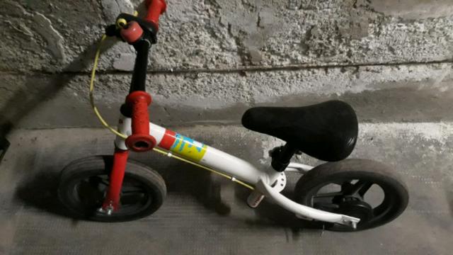 Bici senza pedali da bambino