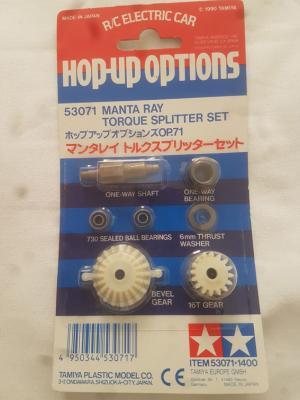 Vintage Tamiya Hop-Up  Manta Ray Torque Spliter Set