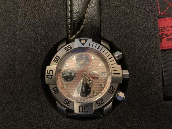 Cronografo automatico in titanio SECTOR DIVING TEAM
