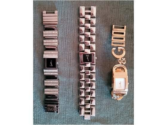 Tre orologi Dolce e Gabbana originali