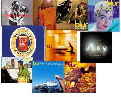 BLUR - LOTTO 19 CD (nuovi, usati e rarità)