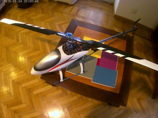 T rex 600 FB DFC completo pronto al volo
