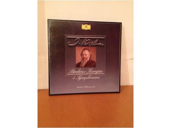 Brahms - 4 sinfonie - Karajan Box Set 4 LP