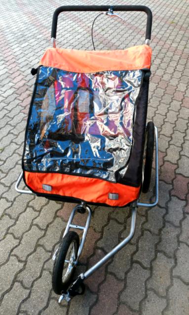 Carrello bici traino