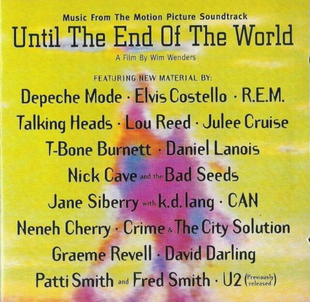 Various - until the end of the world (music from t