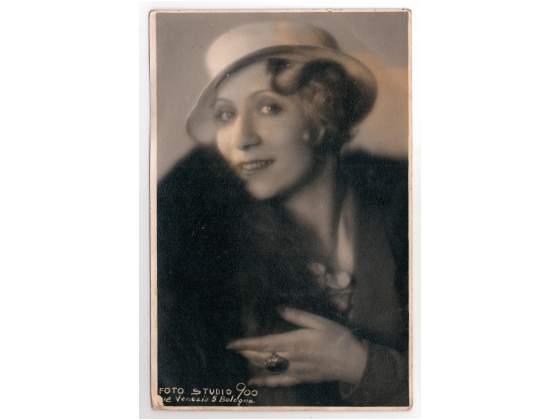 Foto attrice Bianca Maria Furlani con dedica e autografo