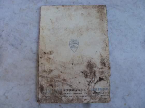 Manuale uso e manut ducati 750 gt