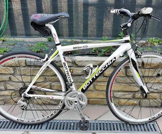 City Bike Bottecchia in alluminio e forcella in carbonio
