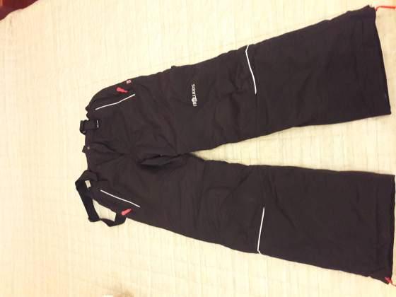 Pantaloni da sci neri da bambino