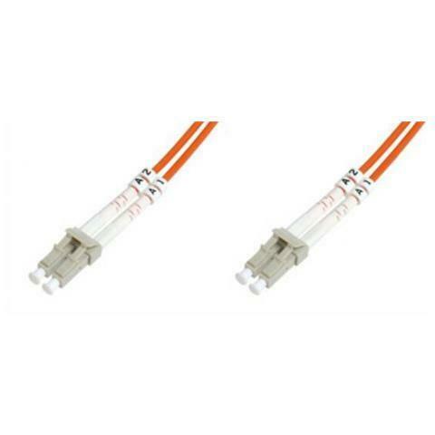 Cavo fibra ottica lc a lc multimode duplex  mt. 3