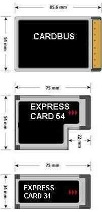 Gw jm adattatore express card - cardbus - spedizione