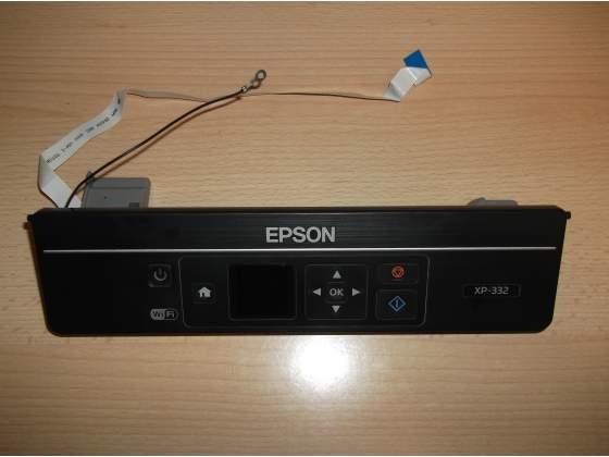 Display comandi di ricambio usato per Stampante Epson xp332