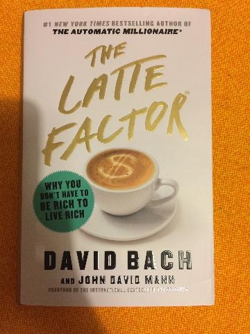 LIBRO IN INGLESE THE LATTE FACTOR DAVID BACH NUOVO